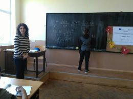 Ученици от 5 клас - ОУ Васил Левски - Долни Луковит